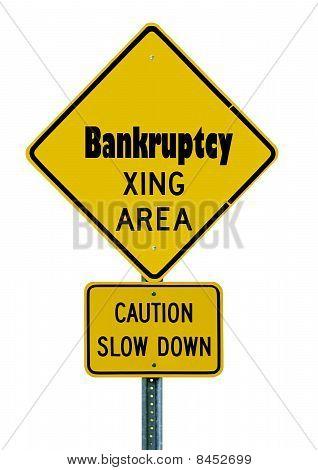 Bankruptcy Caution