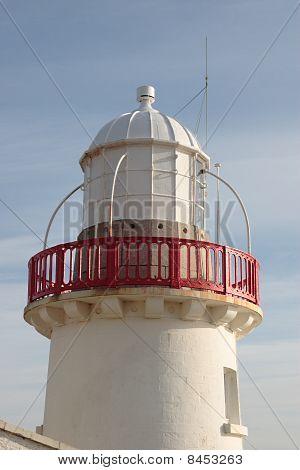 Lighthouse Isolated Against Sky