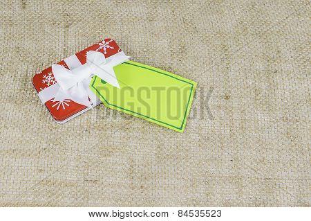 Small Holiday Christmas Gift With Card