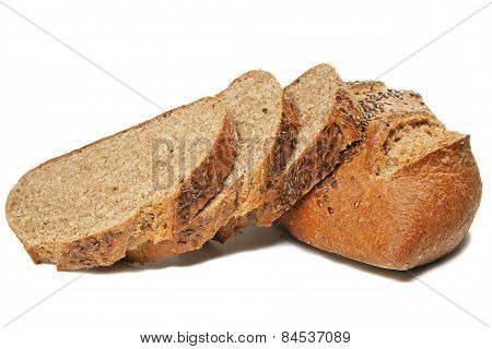 Brown Bread and Slices