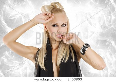 The Blond Girl Portrait