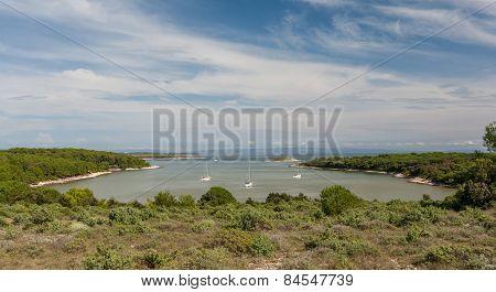 Istria, Croatia. Beautiful small harbor