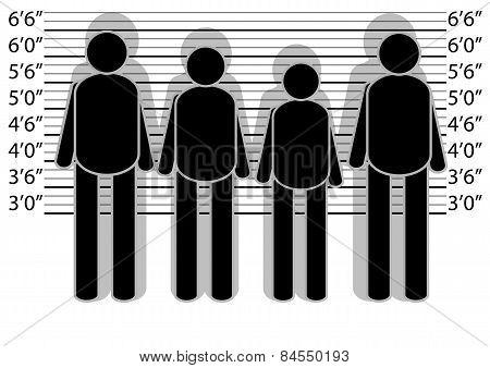 Line Up Police
