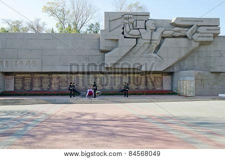 Memorial To The Heroic Defense Of Sevastopol 1941-1942