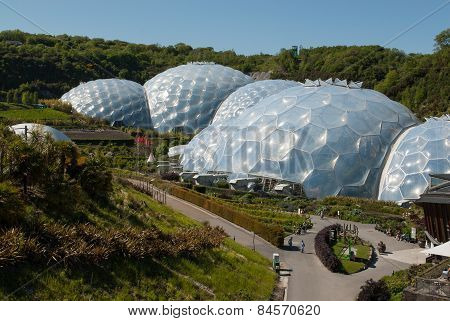 Eden Project Biomes and Landscapes