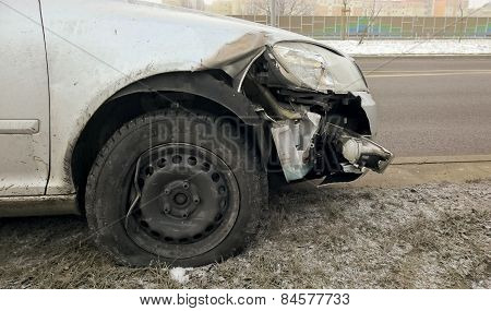 Car Accident On Road