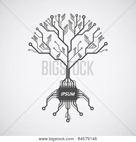 Printed Circuit Board Tree