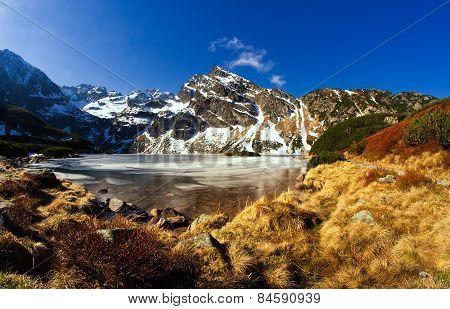 Beautiful Tatra Mountains Landscape