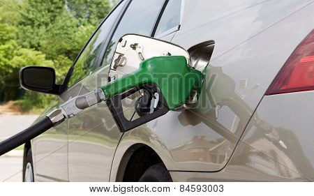 Gas Nozzle Pumping Gas