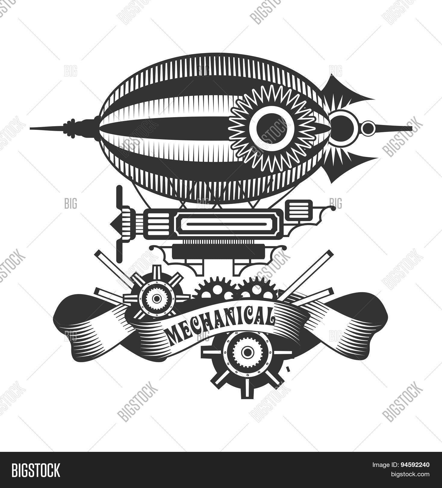 Airship Clip Art Vector and Illustration. 2,242 Airship clipart vector EPS  images available to search from thousands of r… | Stock art, Clip art,  Stock illustration