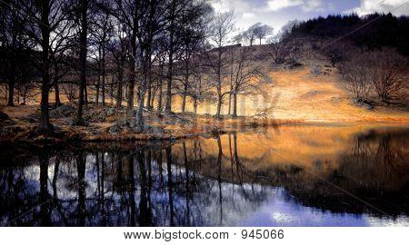 Lake District National Park Cumbria England Uk