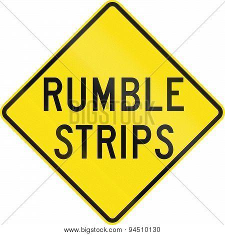 Rumble Strips In Australia