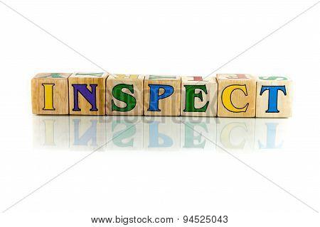 Inspect