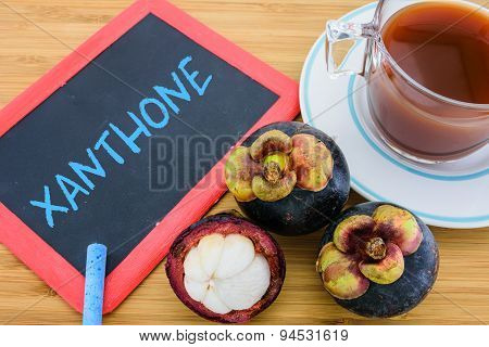 Xanthone, An Antioxidant Compound In The Mangosteen