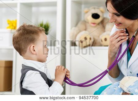 Paediatrics Medical Concept