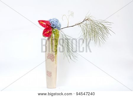 Ikebana Asia Flower Decoration