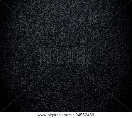 Dark gunmetal leather texture background