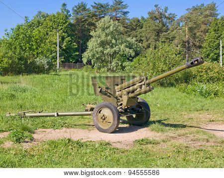 76-mm divisional gun model 1942 ZIS-3, USSR