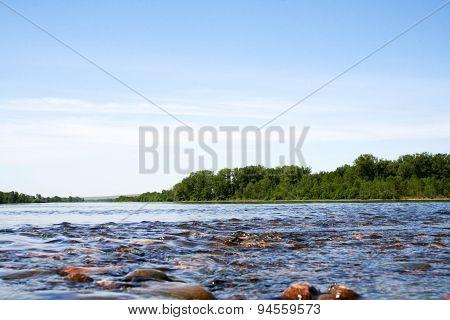 Great Siberian river