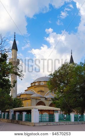 Juma-jami Mosque In Yevpatoria. Crimea.