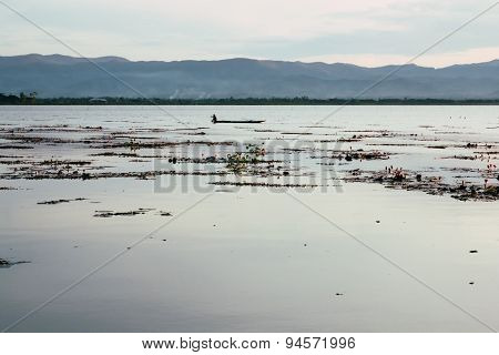Lake in Thailand