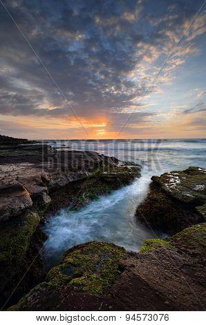 Beautiful Coastal Sunrise