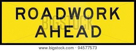 Roadwork Ahead In Australia