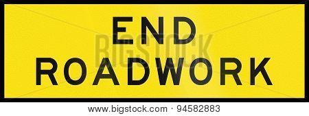 End Roadwork In Australia