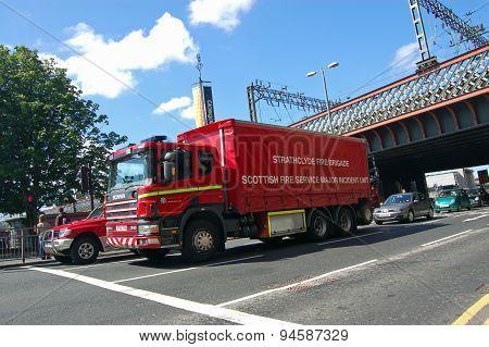 Strathclyde Fire Brigade Truck