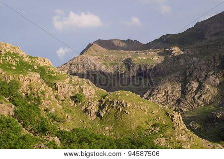 Crib Goch Ridge.