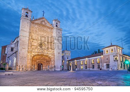San Pablo Church In The Evening, Valladolid