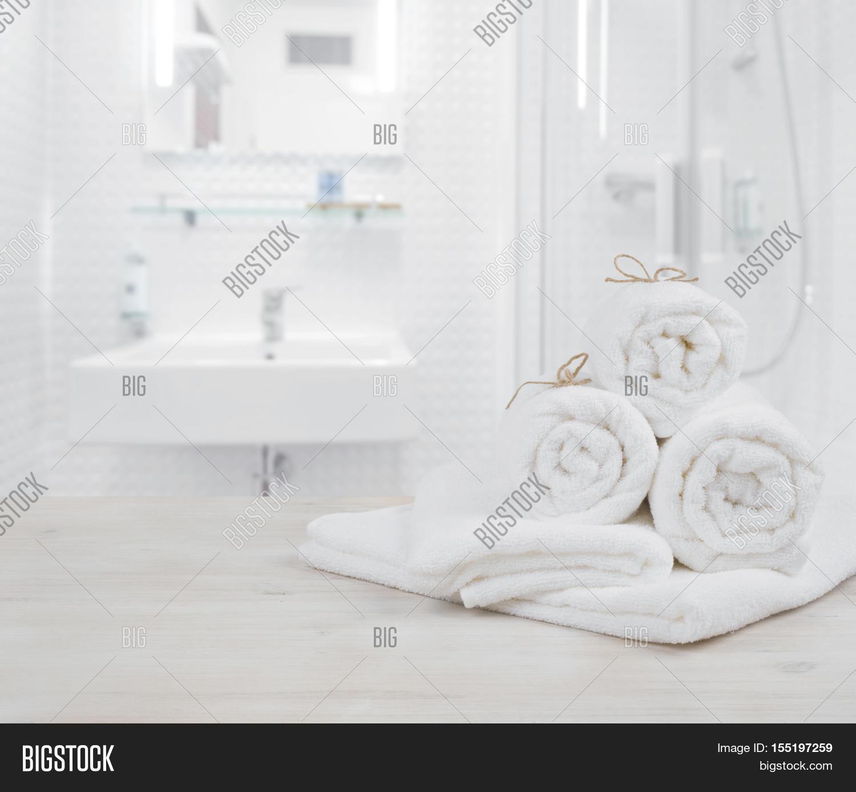 White Folded Spa Image & Photo (Free Trial) | Bigstock
