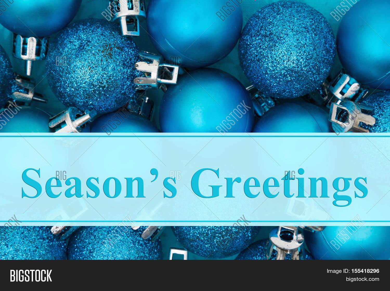 Seasons Greetings Image Photo Free Trial Bigstock