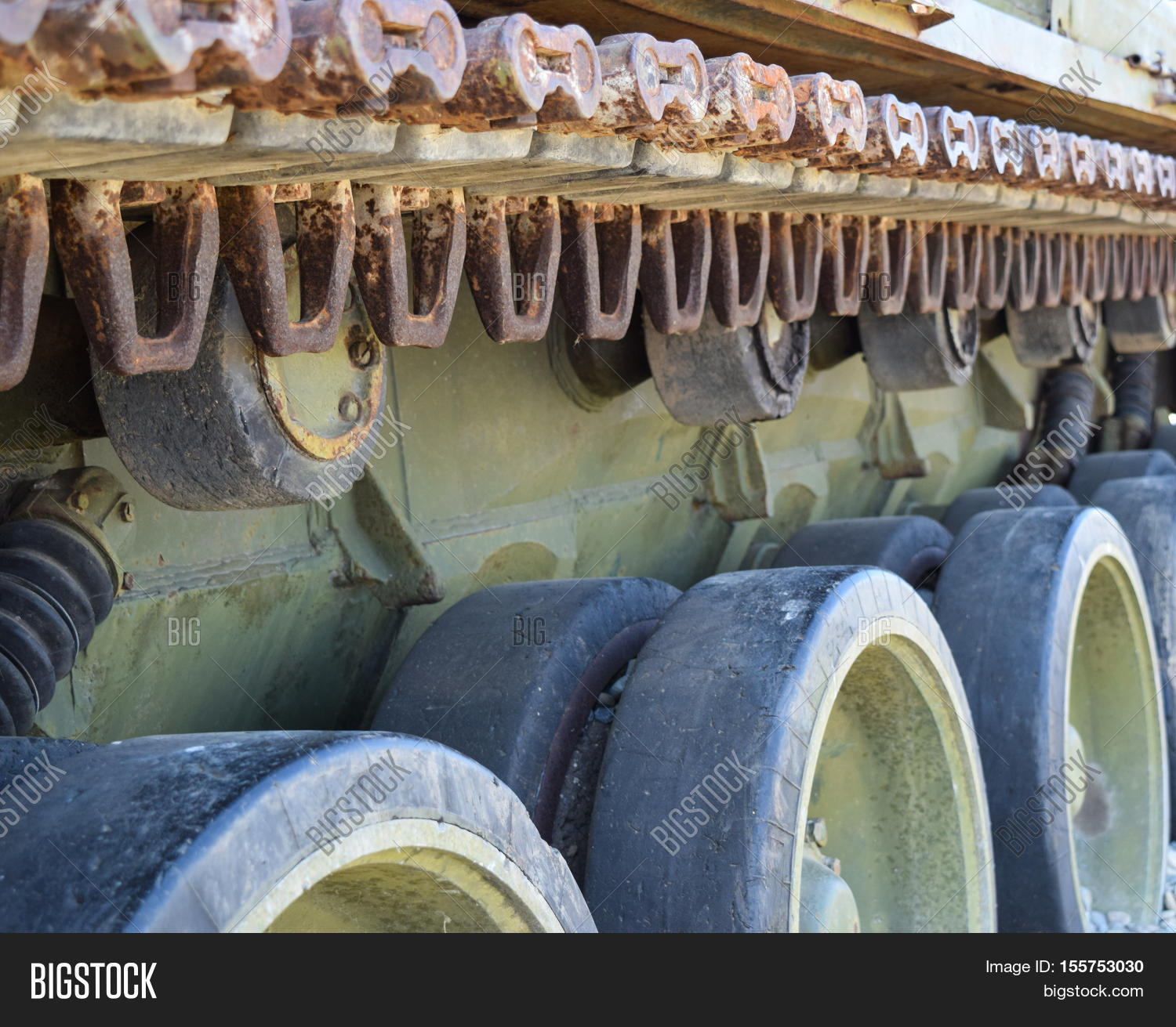 Caterpillar Chain Old Image & Photo (Free Trial) | Bigstock