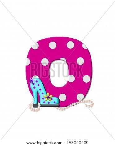 Alphabet Shoe Dive O