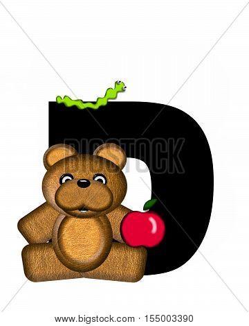 Alphabet Teddy D