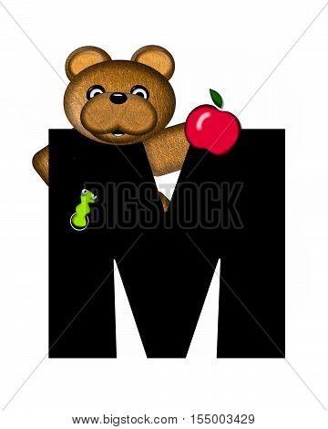 Alphabet Teddy M