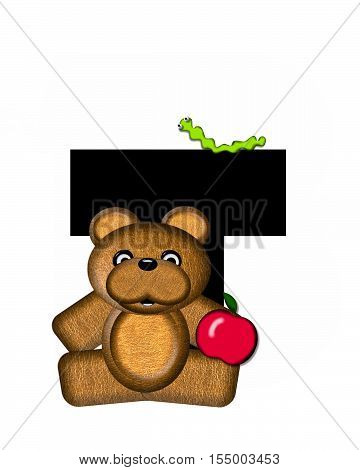 Alphabet Teddy T