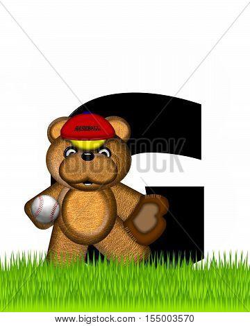 Alphabet Teddy Baseball G