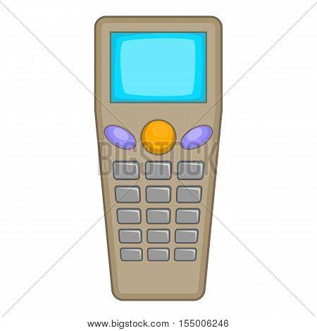 Remote control tool icon. Cartoon illustration of control tool vector icon for web design