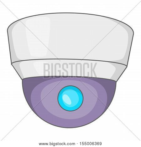 Barcode scanner icon. Cartoon illustration of barcode scanner vector icon for web design