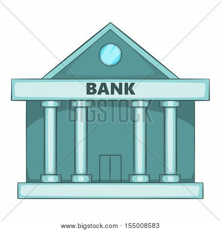 Swiss Bank icon. Cartoon illustration of Swiss bank vector icon for web design