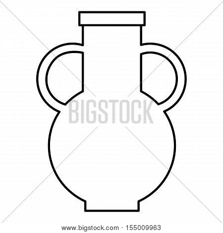 Pitcher icon. Outline illustration of pitcher vector icon for web