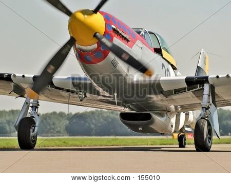 P51 Mustang Parked