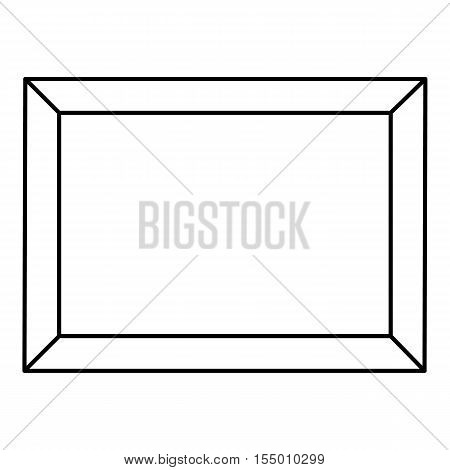 Picture icon. Outline illustration of picture vector icon for web