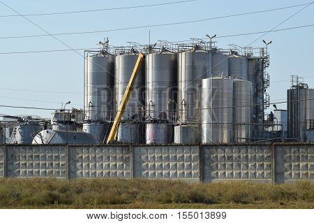 Tanks For Preparation Of Champagne