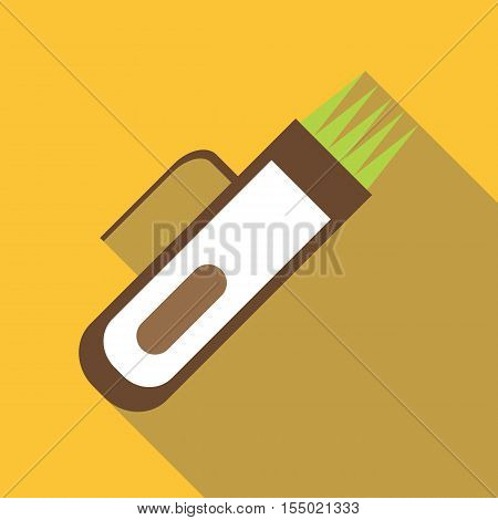 Hair clipper icon. Flat illustration of hair clipper vector icon for web