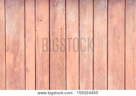 Red weathered wooden background no. 1 as background