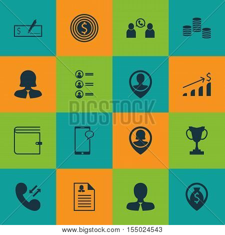 Set Of Hr Icons On Job Applicants, Tournament And Messaging Topics. Editable Vector Illustration. In