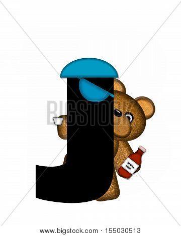 Alphabet Teddy Dental Checkup J